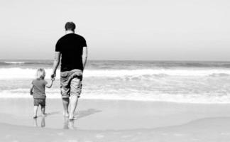padre e hija foto