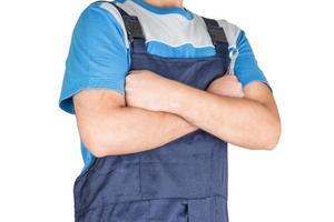 Confident Blue Collar Worker photo