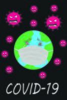 Corona virus awareness poster