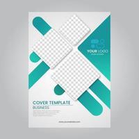 Corporate Brochures Template vector