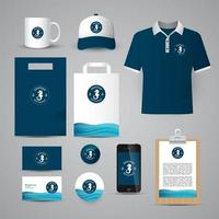 Identity Corporate set vector