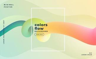 fundo de loop de fluido colorido