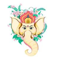 Lord Ganesha, Ganesh Chaturthi. vector