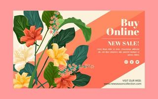 Promotion Fashion Web Banner vector