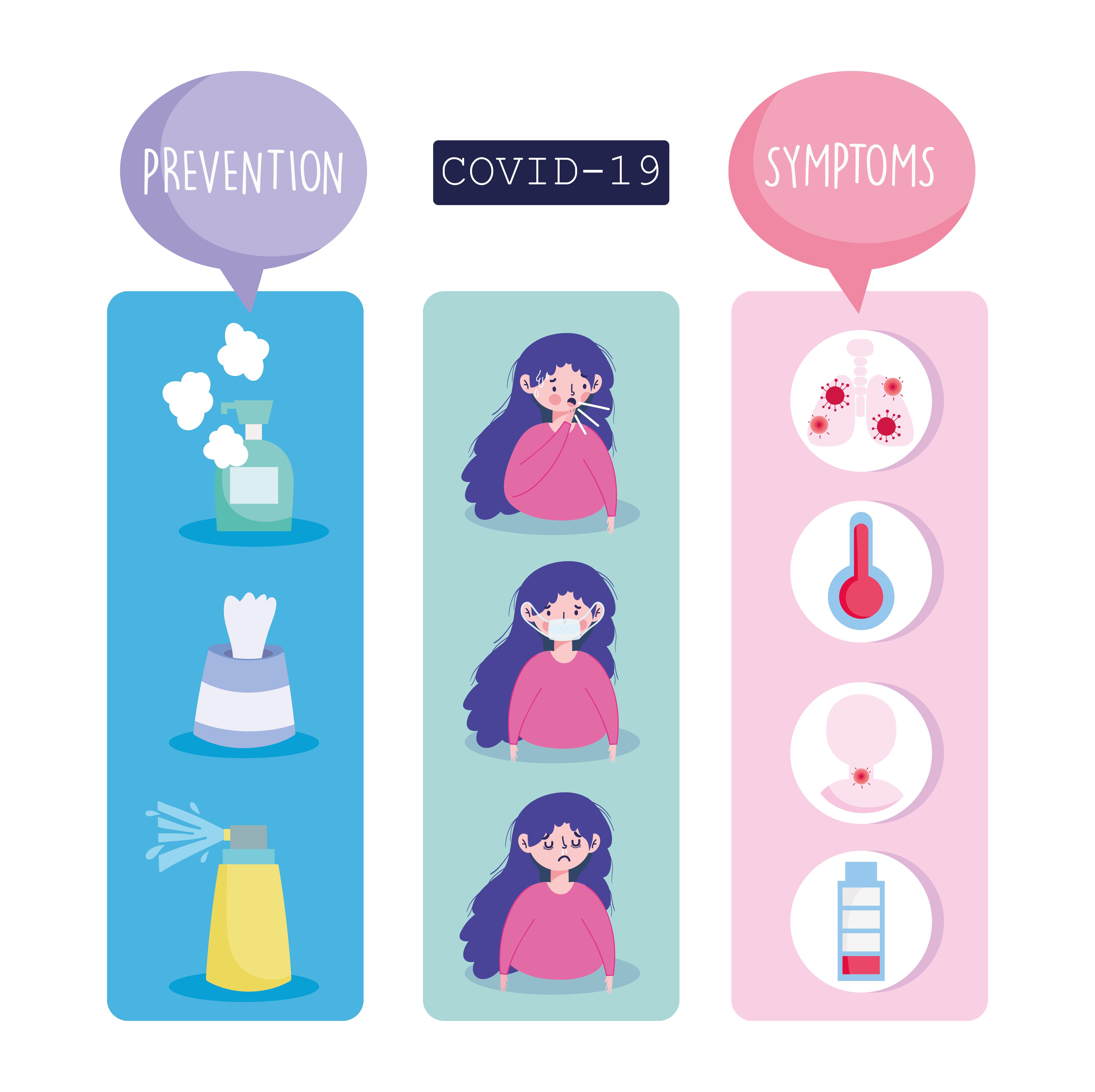 conjunto de ícones de infográficos de coronavírus