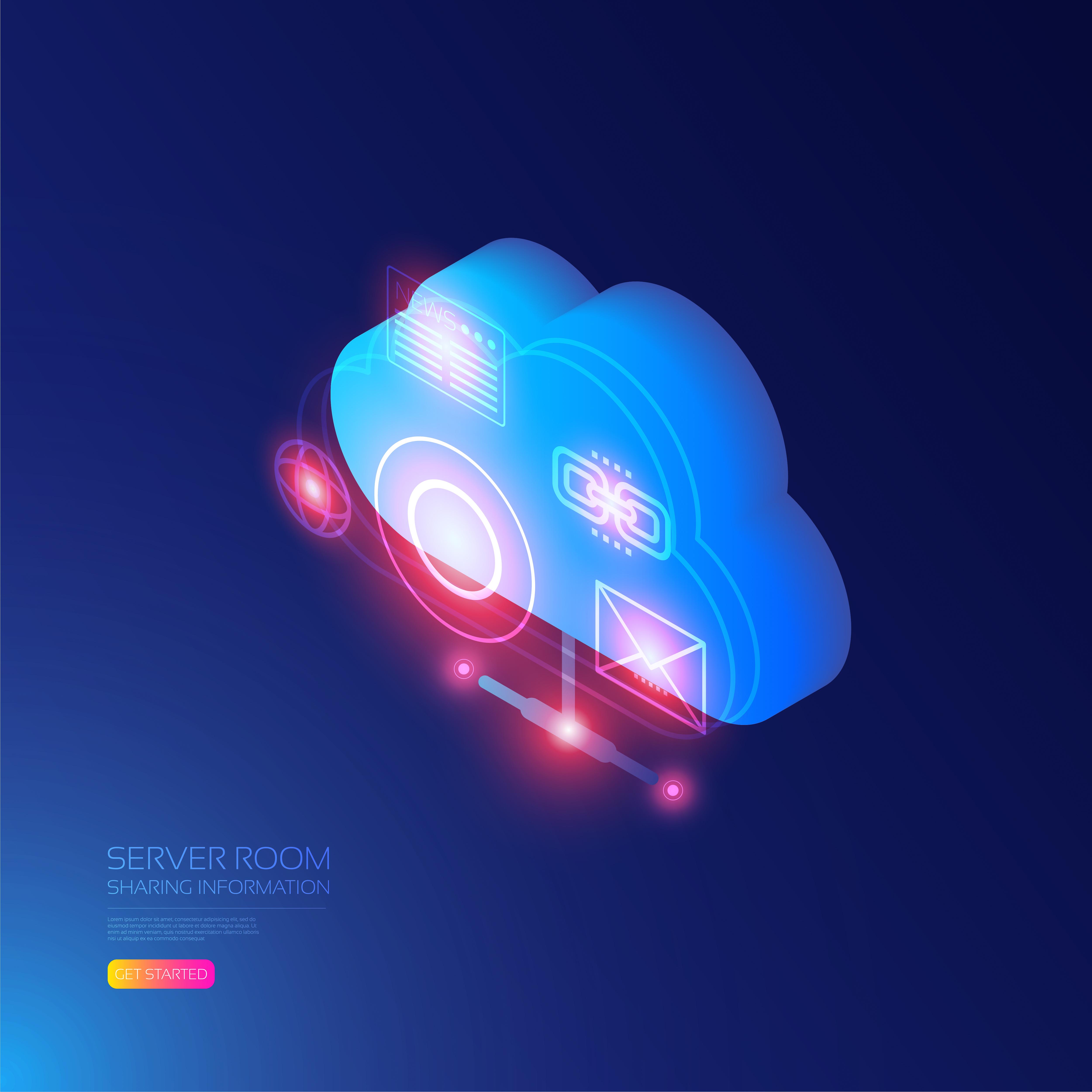 Isometric cloud information design