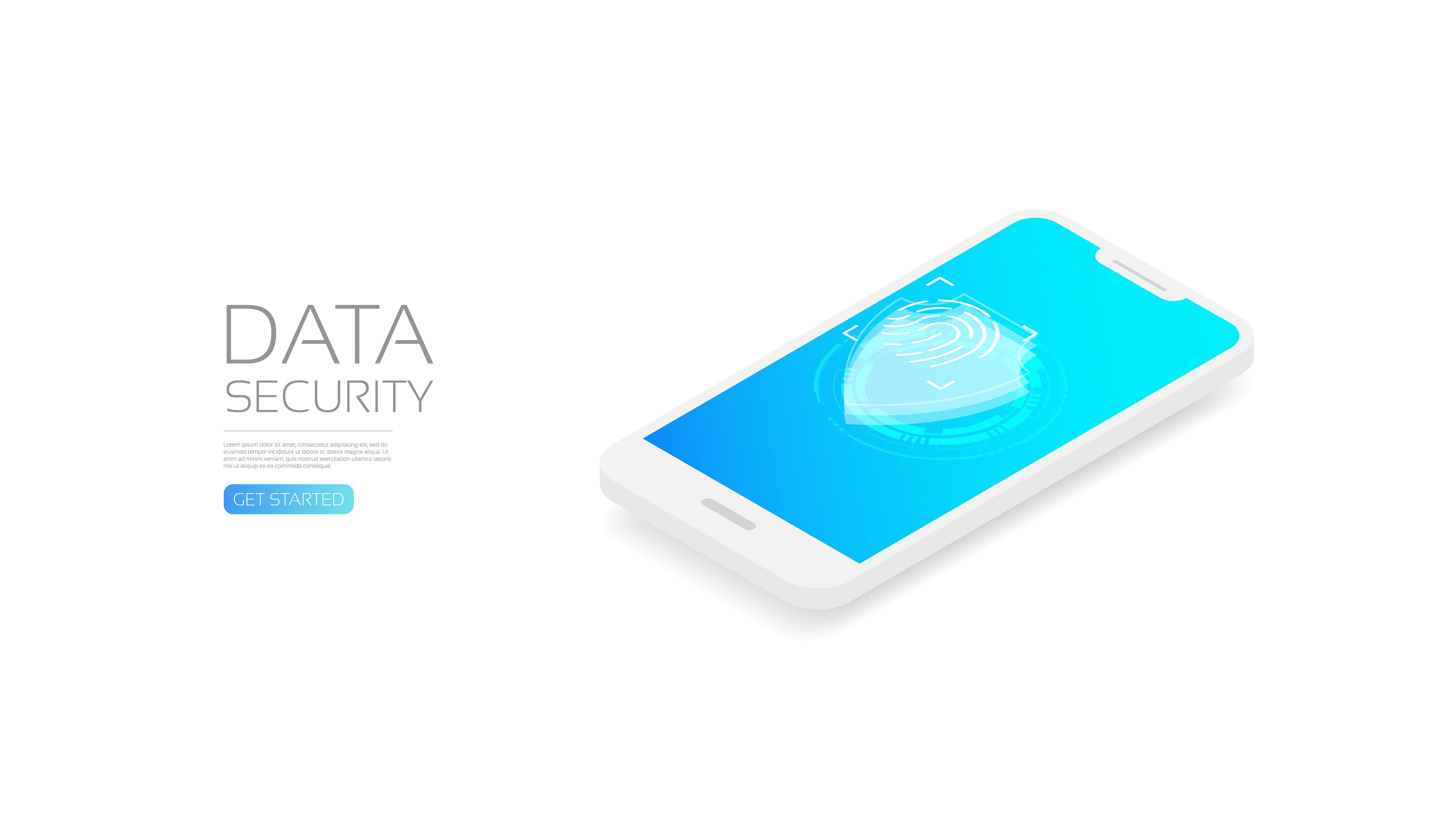 Isometric identity scanner on phone
