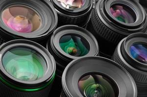 Verious photo lenses