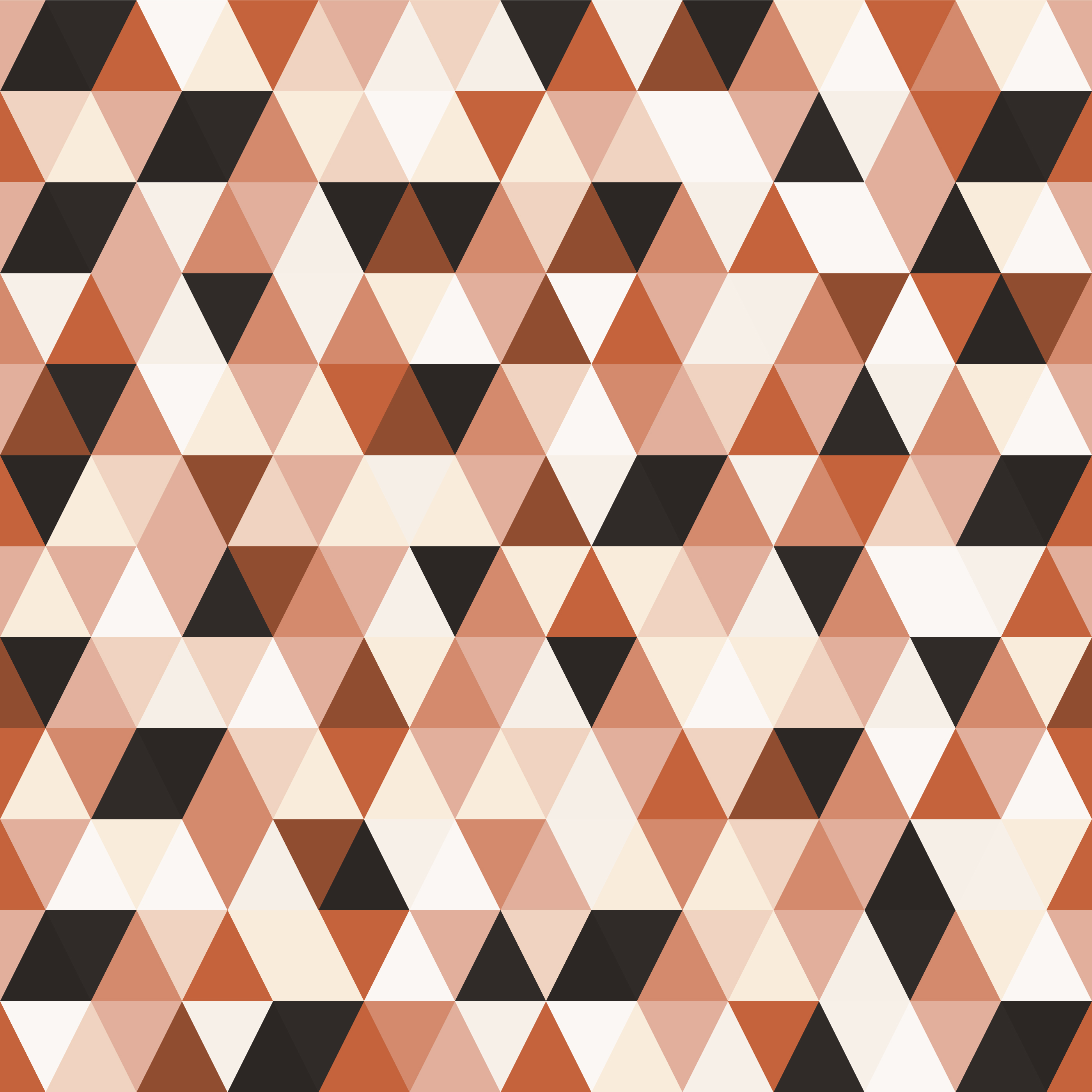 Geometric Mosaic Triangle Seamless Pattern vector