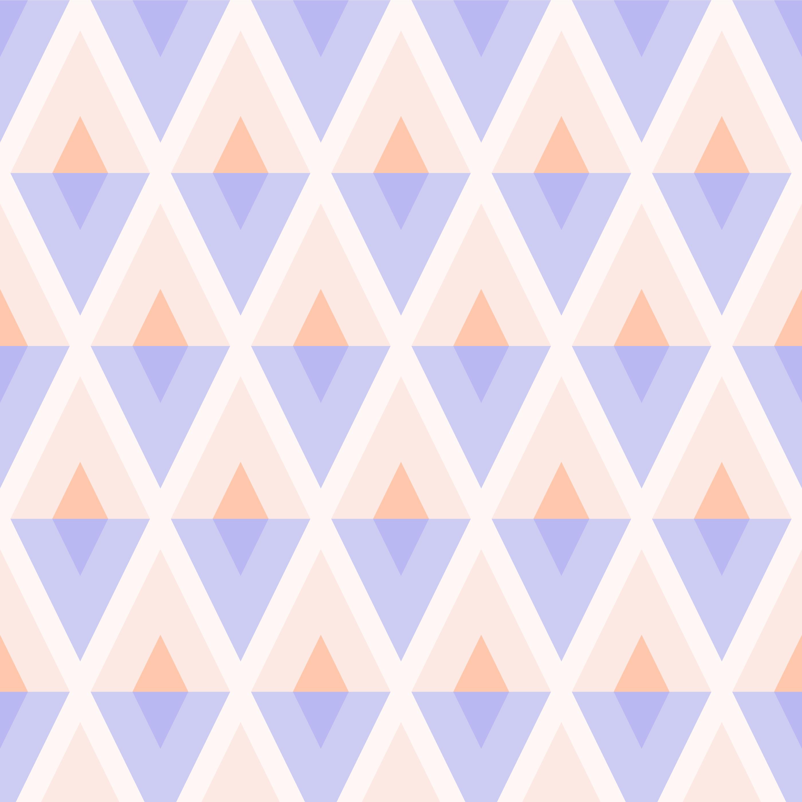 motif sans soudure géométrique arlequin pastel vecteur