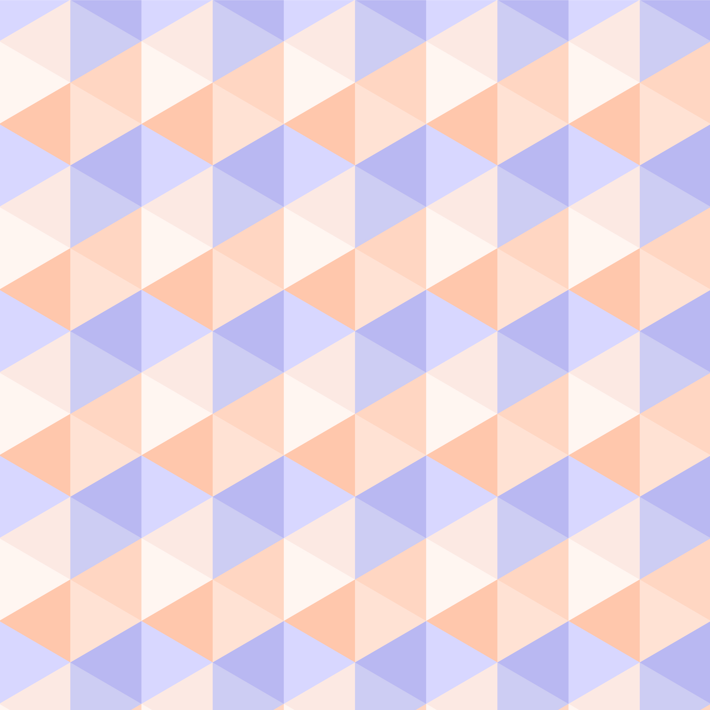 Seamless Abstract Pastel Triangle Pattern vector
