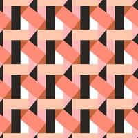 Seamless Multicolor Diagonal Lines Geometric Pattern vector