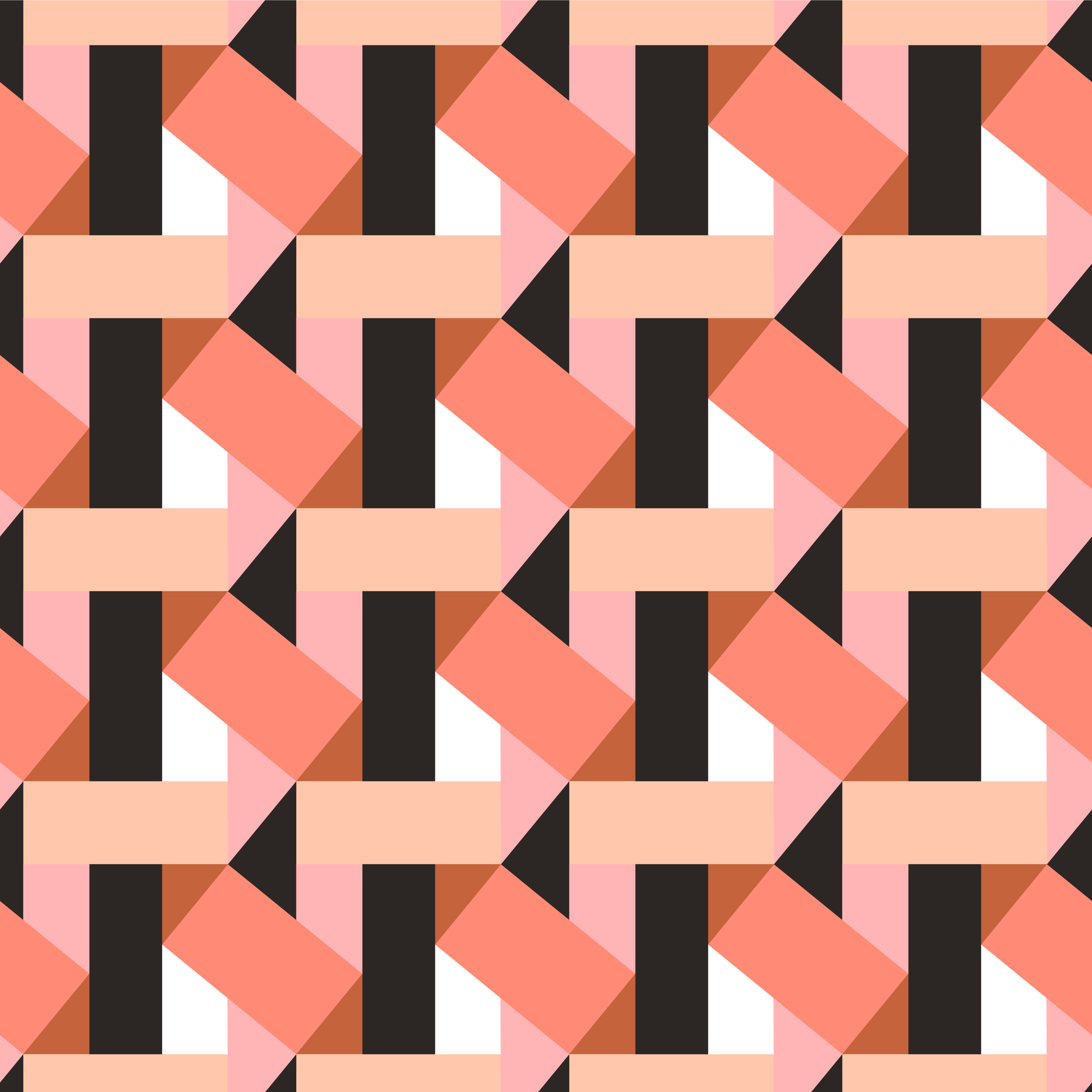 Seamless Multicolor Diagonal Lines Geometric Pattern