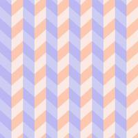 Seamless Pastel 3D Zigzag Pattern vector