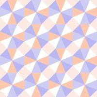 Seamless Pastel Triangle Optical Geometry Pattern vector