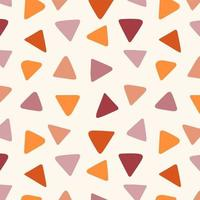 Abstract Geometric colorful Triangles Seamless Texture vector