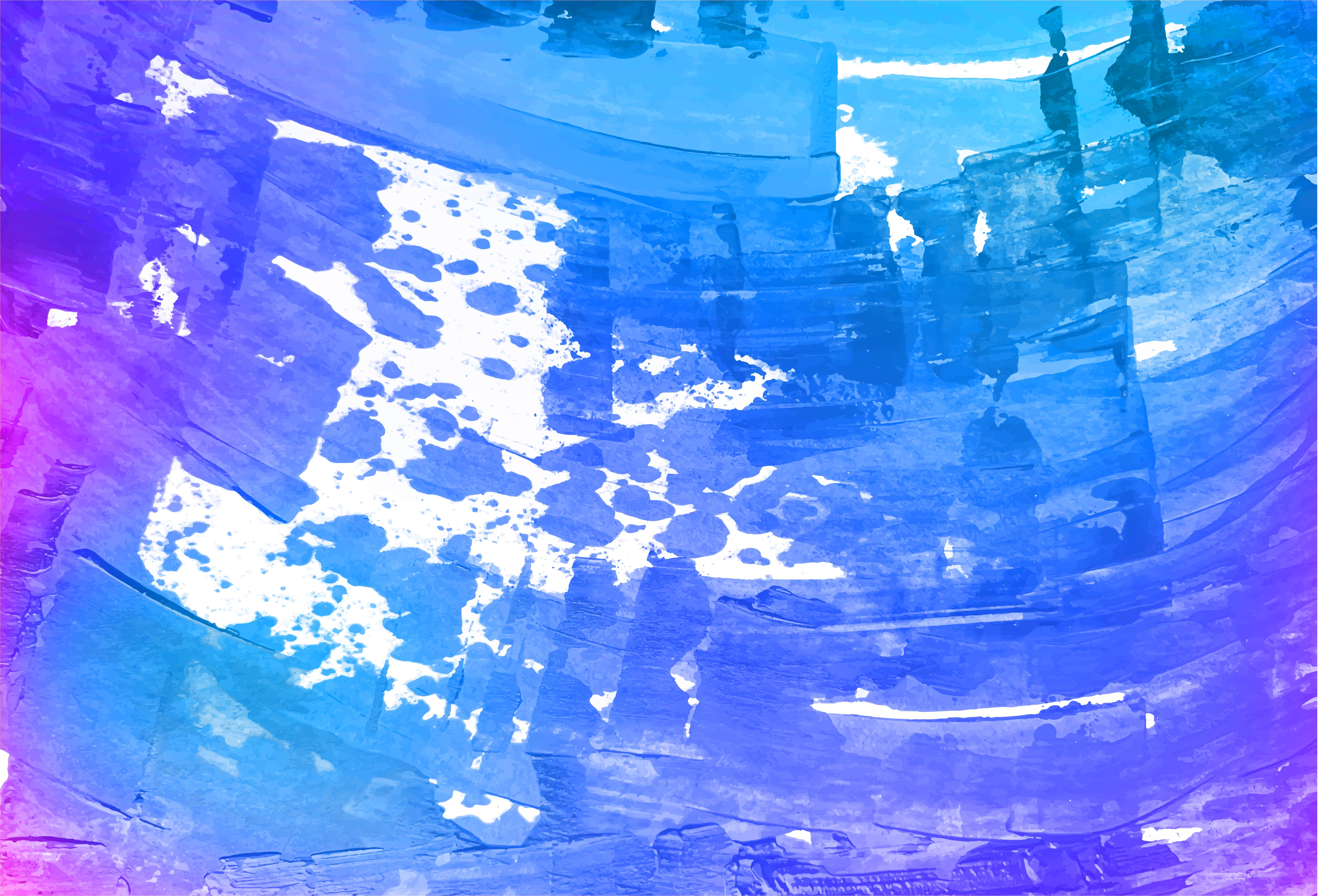 Abstract Purple, Blue Paint Scraped Texture Background