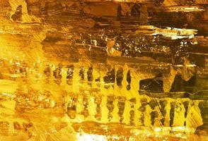Modern Golden Watercolor Texture Background vector