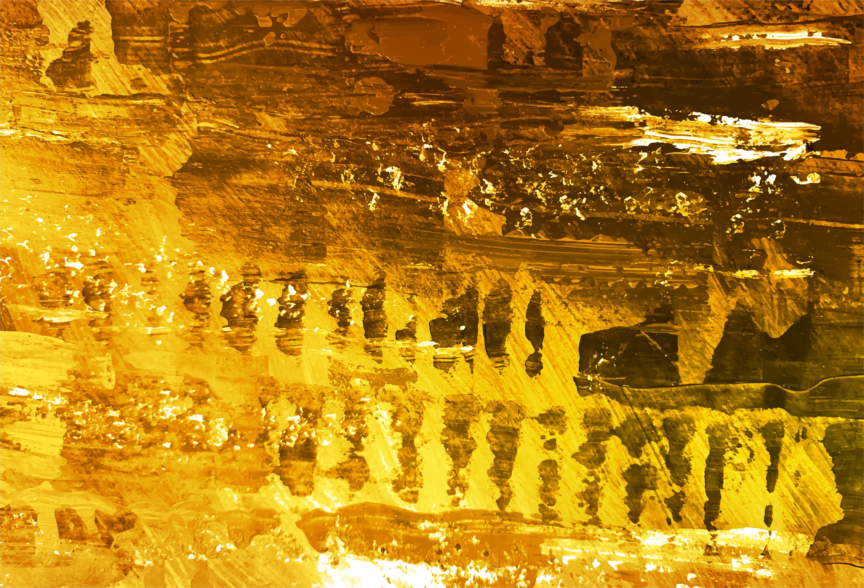 Fondo de textura de acuarela dorada moderna