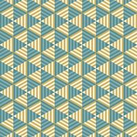 Abstract Striped Triangle Seamless Pattern vector