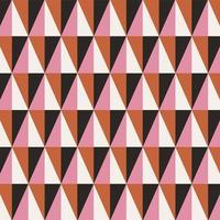 Abstract Triangle Geometric Seamless Pattern vector