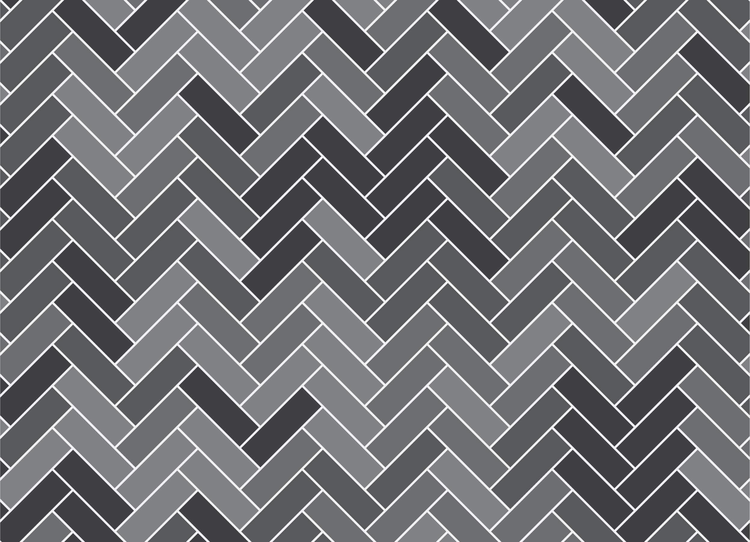Gray herringbone pattern