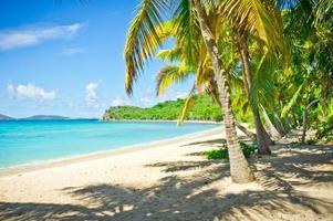 Beautiful view of Tortola, British Virgin Islands photo