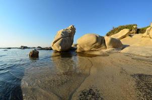 paisaje marino de ojo de pez foto