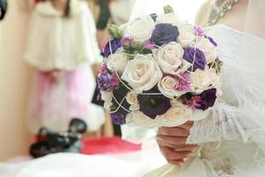 Beautiful wedding bouquet photo