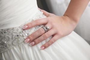 anillo de bodas foto