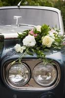 Luxury wedding car photo