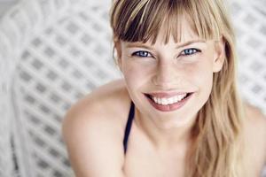 Blue eyed beauty photo