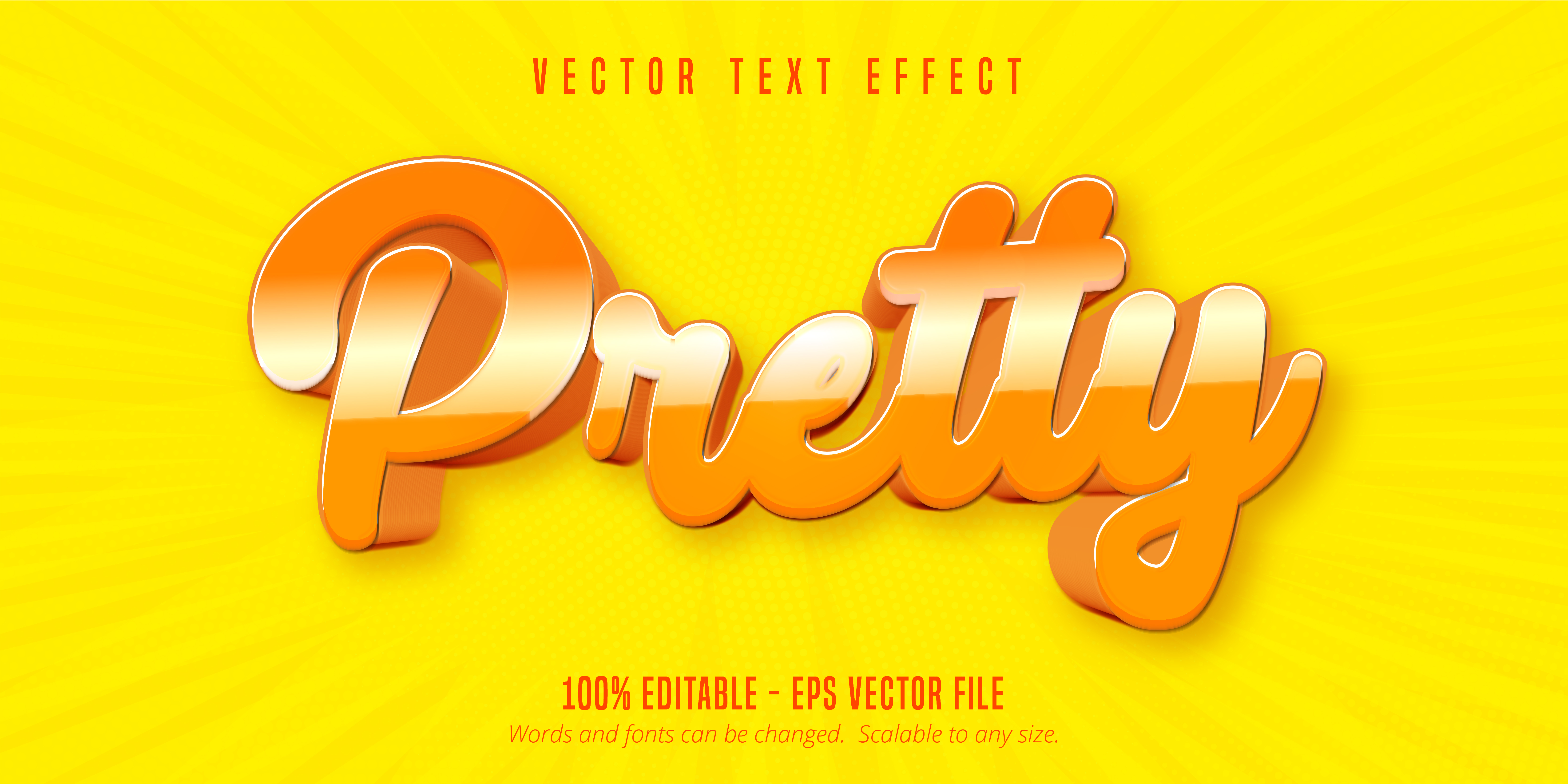 Pretty Text, Cartoon Style Text Effect