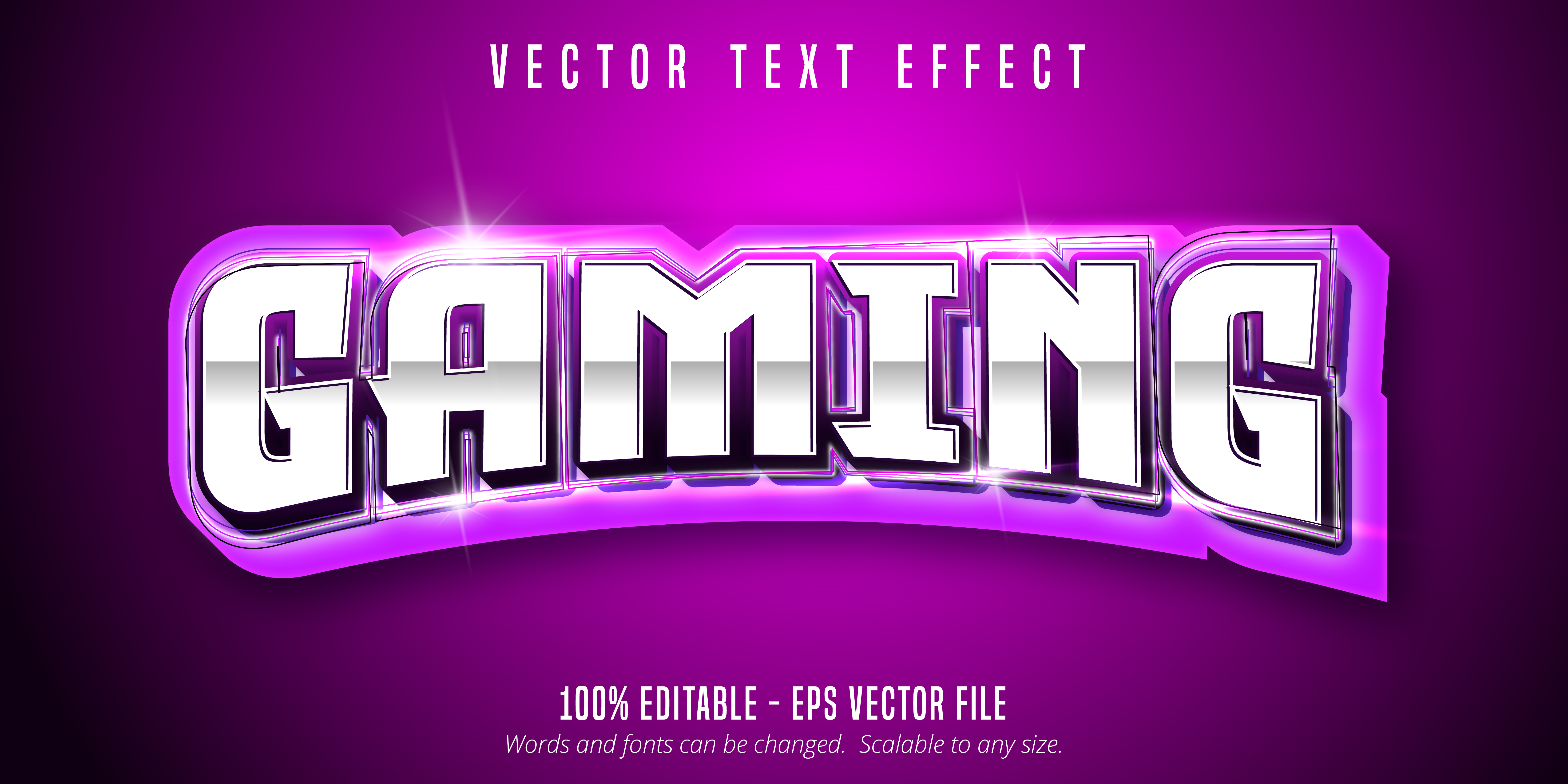 Gaming Text, Sport Style Text Effect