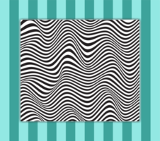 Wave Line Pattern vector