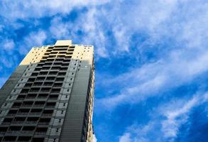 vista de ángulo bajo del edificio foto