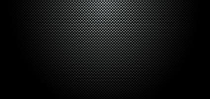 textura de material de fibra de carbono negro vector