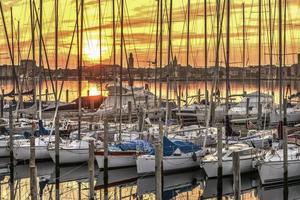 Porto di Chioggia, Venezia Italia