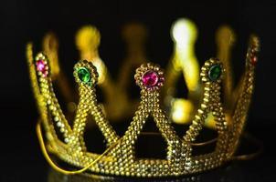 Corona de oro foto