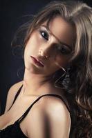 sensual beautiful woman photo