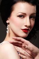 Burlesque girl photo