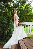 Fantastic fairy bride photo