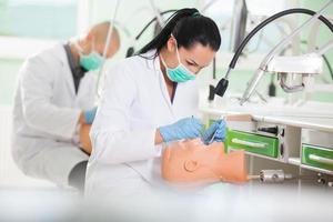 Estudiante dental foto