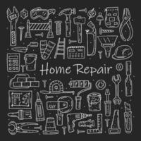 Home repair tools  vector