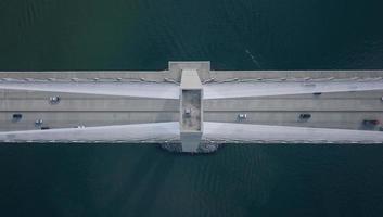 vue aérienne d'un pont