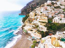 Seaside village of Cinque Terre in Italy photo