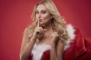 I've left you something under the Christmas tree