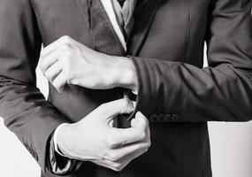 Man in suit. photo