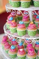 camada de cupcakes
