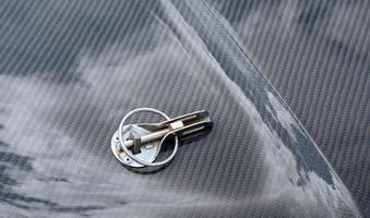 detail of a luxury car photo